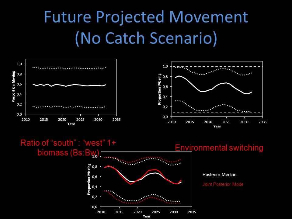 Future Projected Movement (No Catch Scenario)