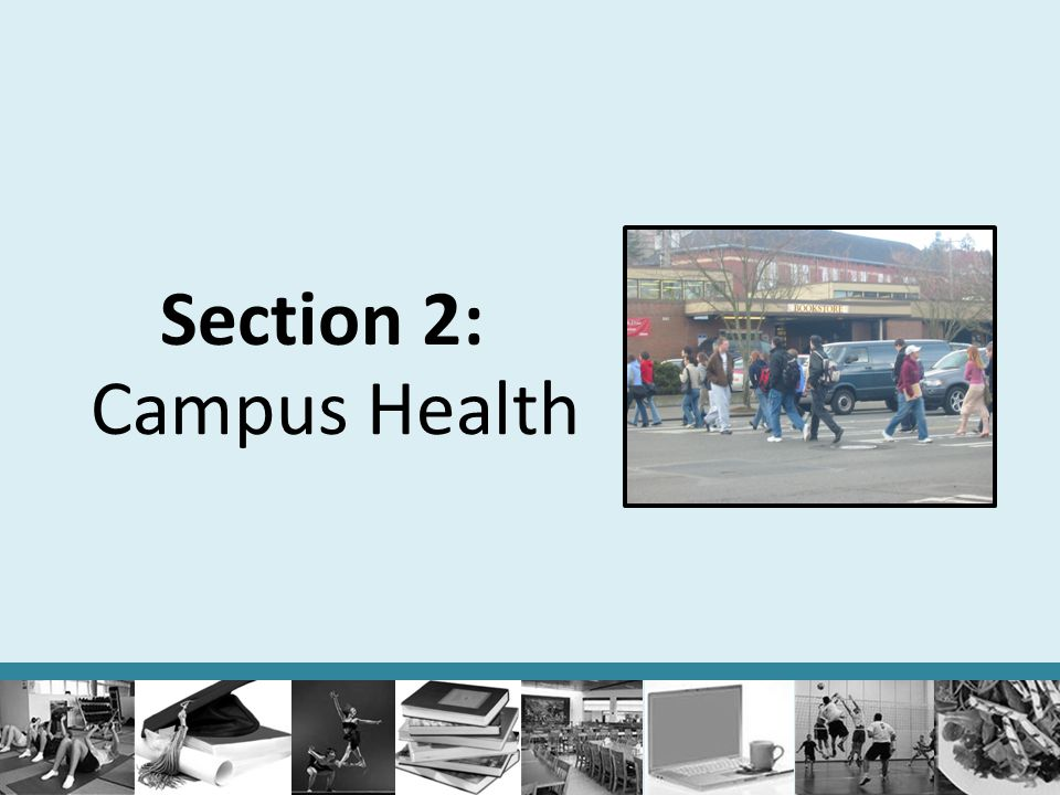 Section 2: Campus Health