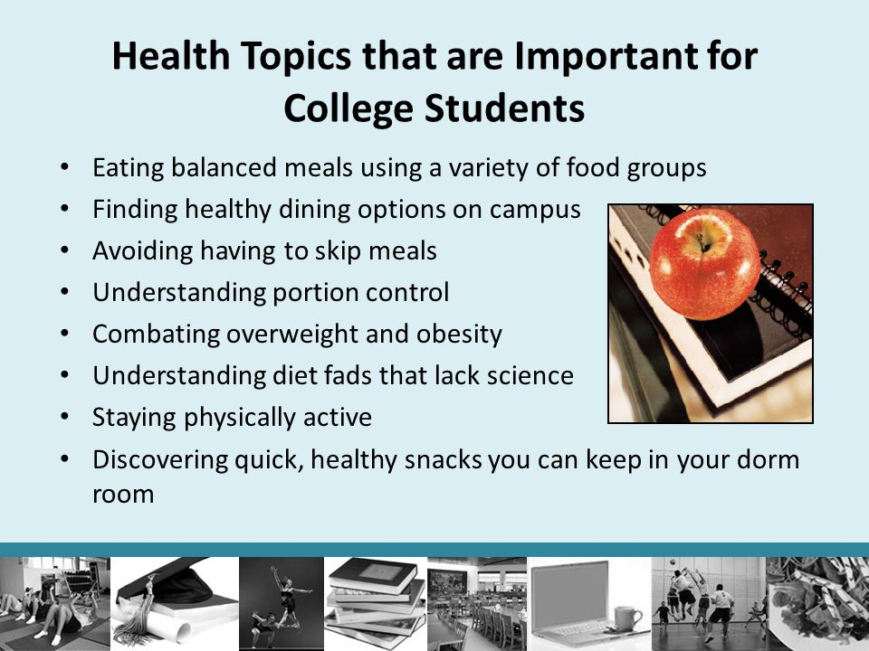 Health Topics that are Important for College Students