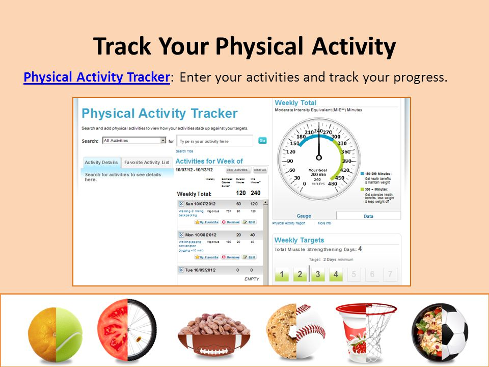 Track Your Physical Activity