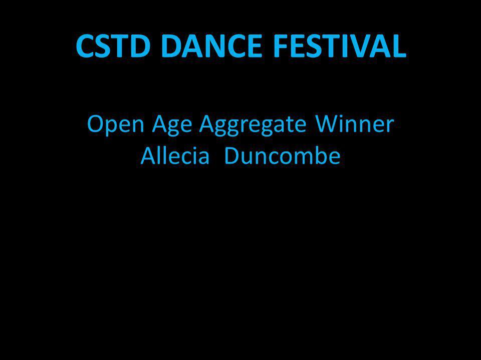 Open Age Aggregate Winner