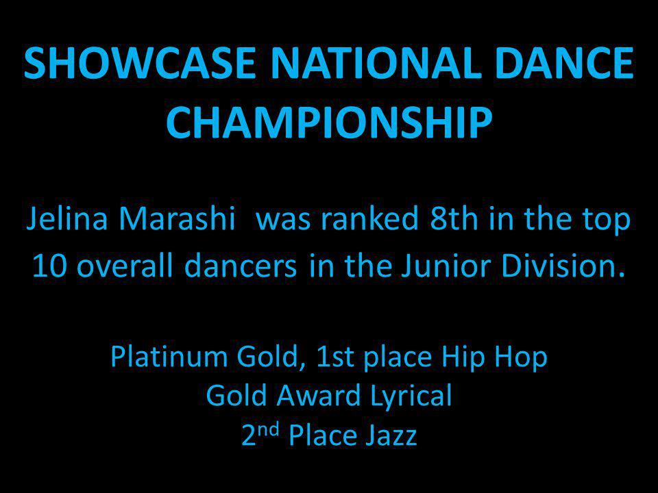 SHOWCASE NATIONAL DANCE CHAMPIONSHIP