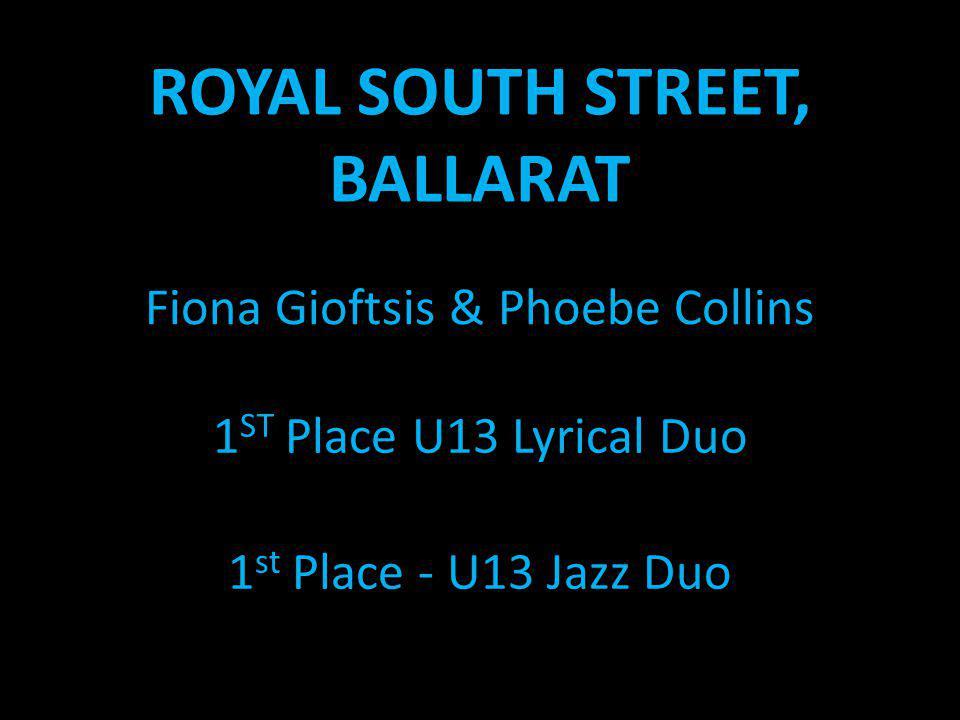 ROYAL SOUTH STREET, BALLARAT