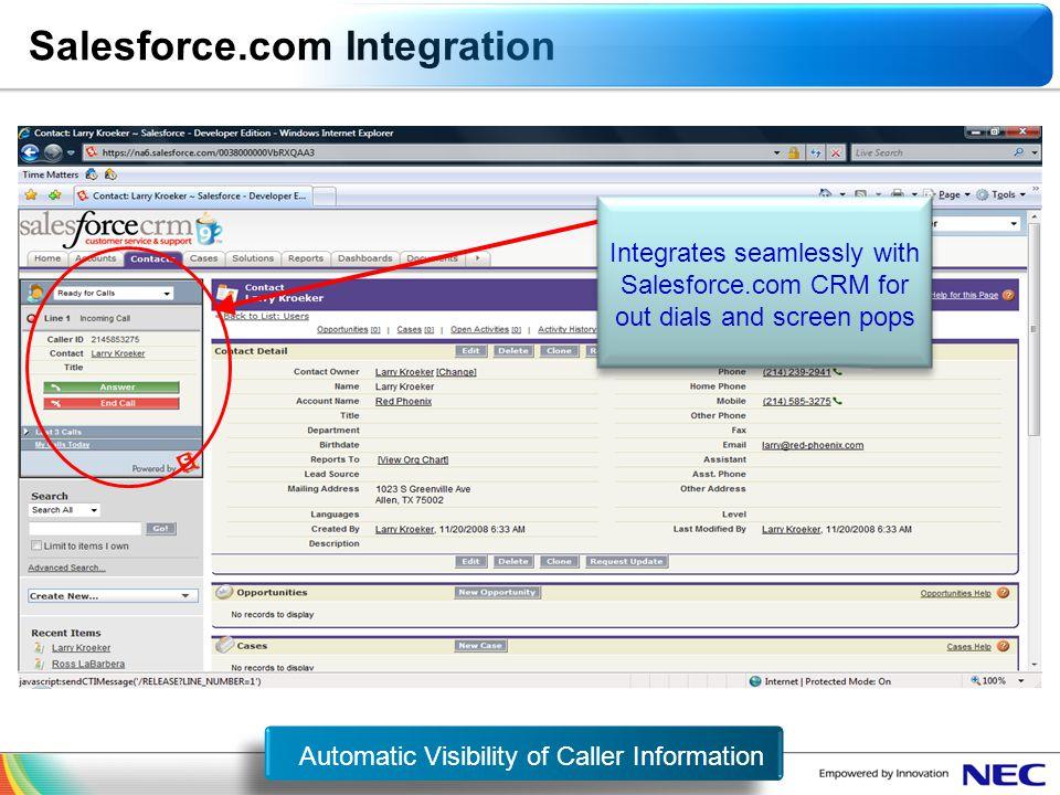 Salesforce.com Integration Salesforce.com Integration
