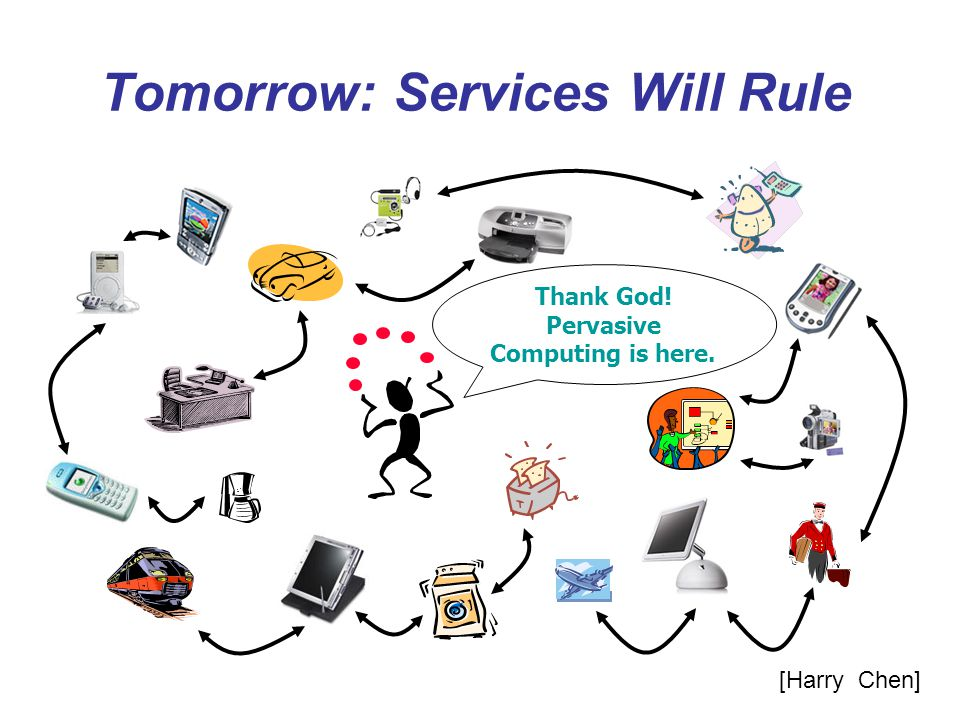 Tomorrow: Services Will Rule
