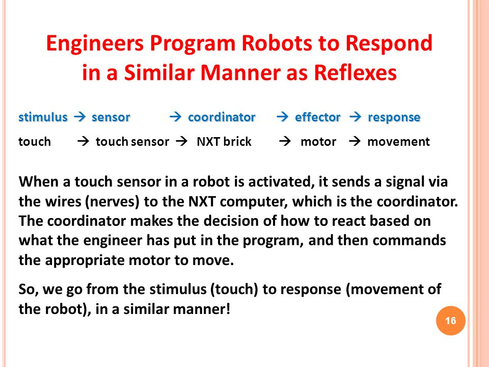 Engineers Program Robots to Respond in a Similar Manner as Reflexes