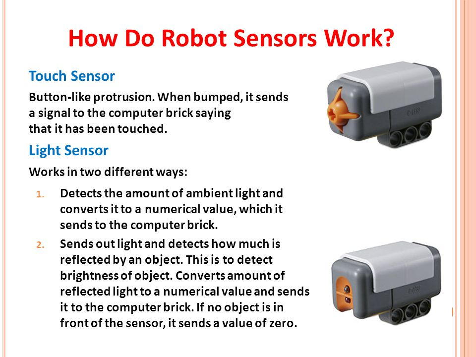 How Do Robot Sensors Work