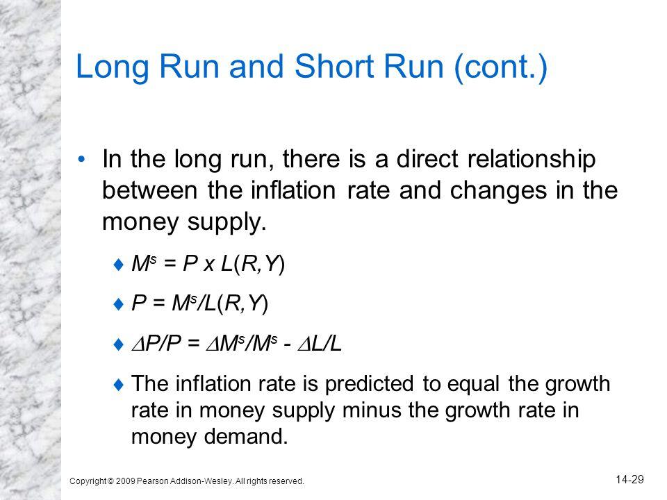 Long Run and Short Run (cont.)