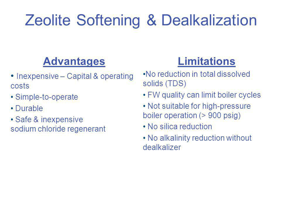 Zeolite Softening & Dealkalization
