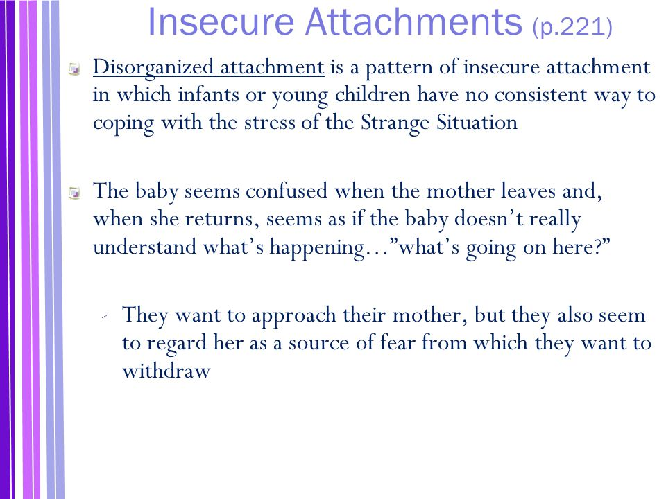 Insecure Attachments (p.221)