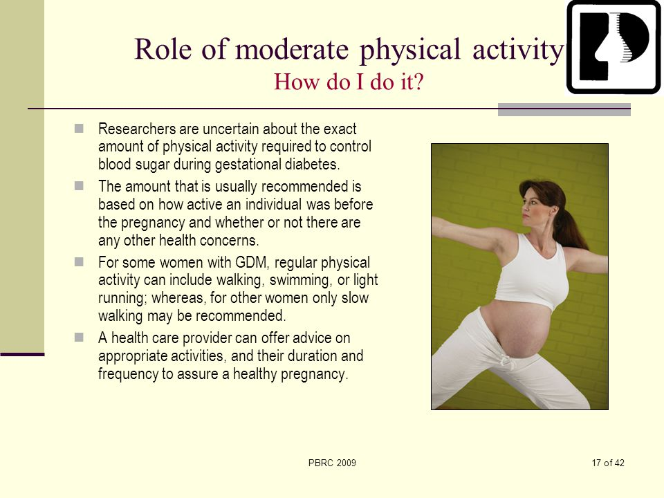 Role of moderate physical activity How do I do it