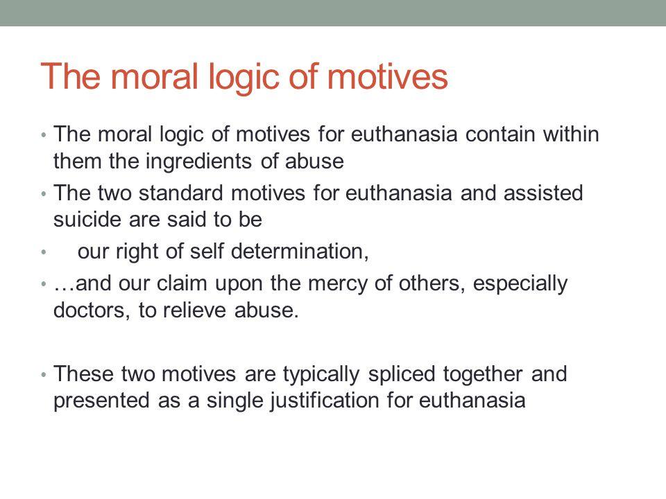 The moral logic of motives