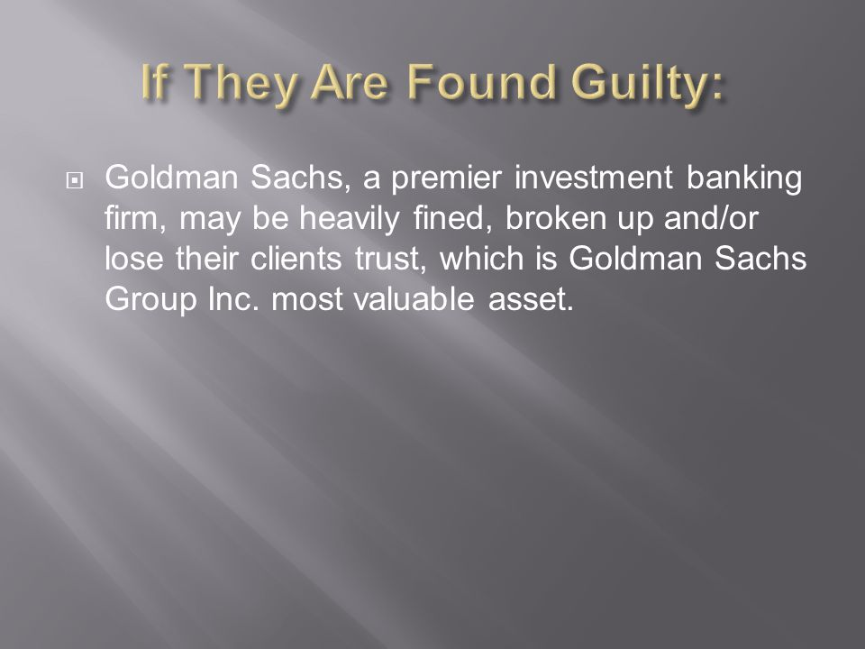 If They Are Found Guilty: