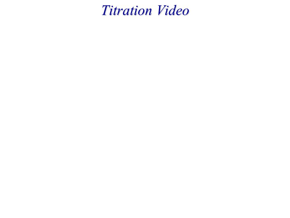 Titration Video