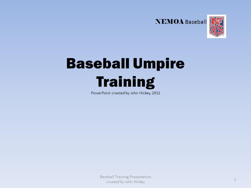Baseball Umpire Training