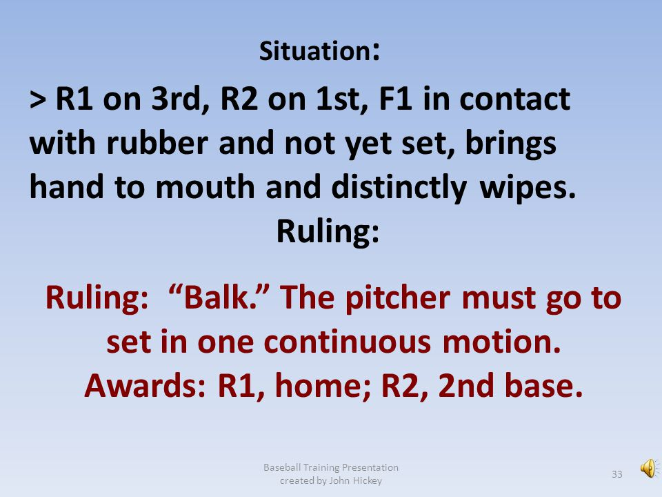 Ruling: Balk. The pitcher must go to set in one continuous motion.