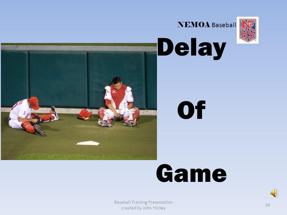 Baseball Training Presentation created by John Hickey