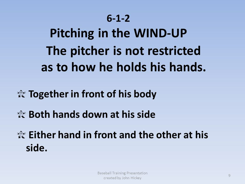 Pitching in the WIND-UP