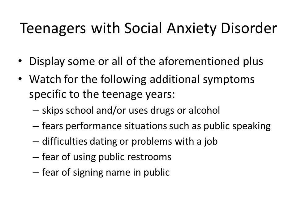 Dating A Girl With Social Anxiety Disorder