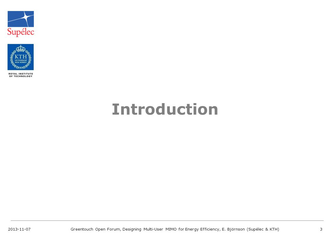 Introduction 2013-11-07.