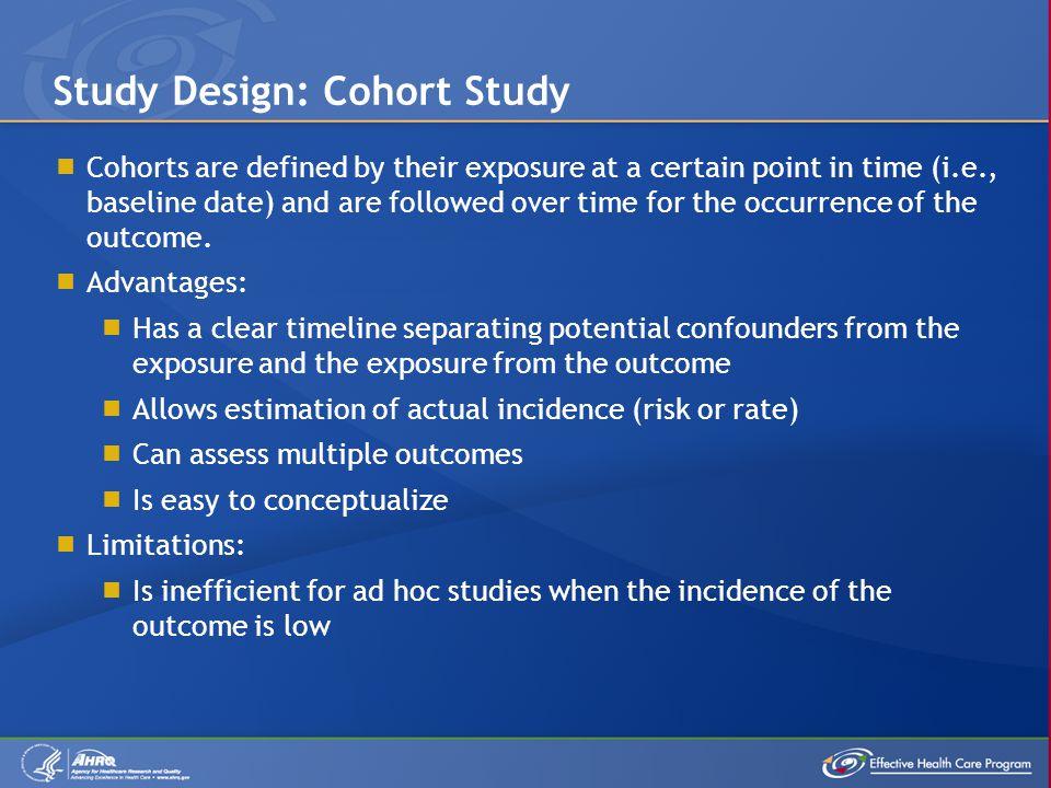 Study Design: Cohort Study