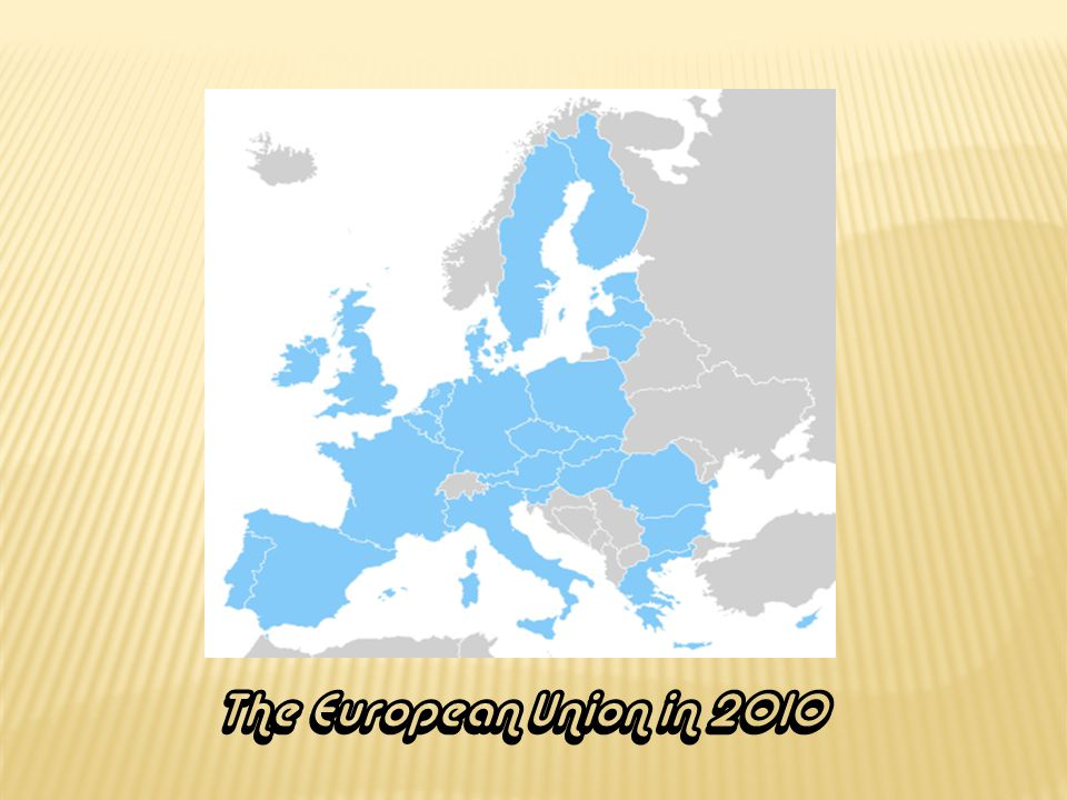 The European Union in 2010