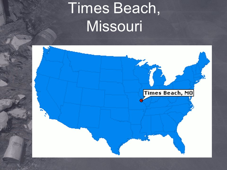 Times Beach, Missouri