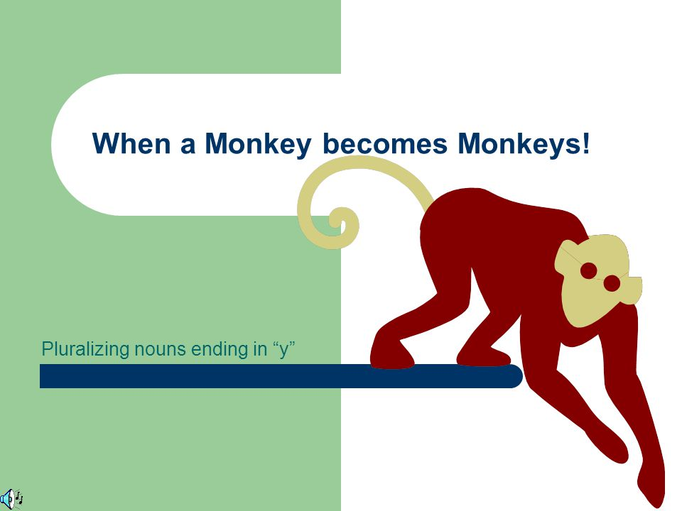 When a Monkey becomes Monkeys!