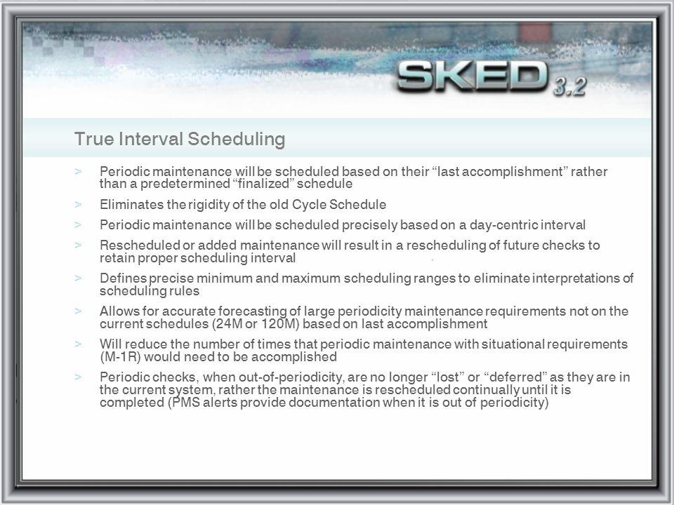 True Interval Scheduling