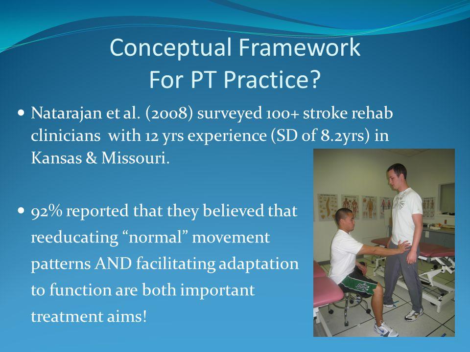 Conceptual Framework For PT Practice