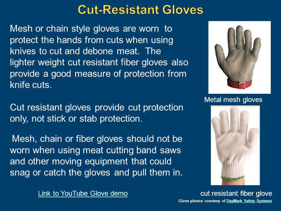 cut resistant fiber glove