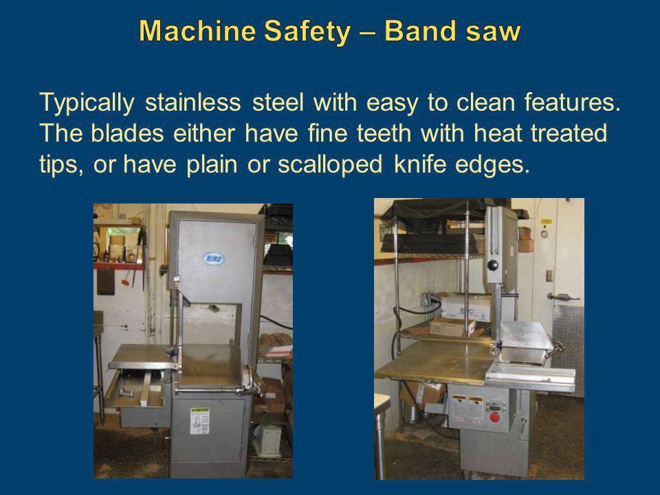 Machine Safety – Band saw