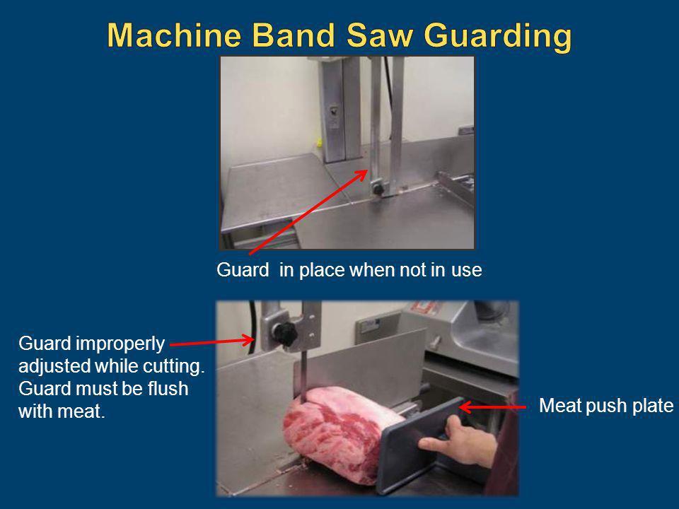 Machine Band Saw Guarding