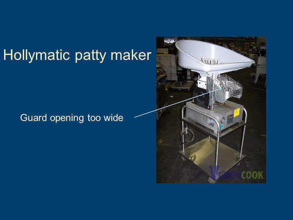 Hollymatic patty maker