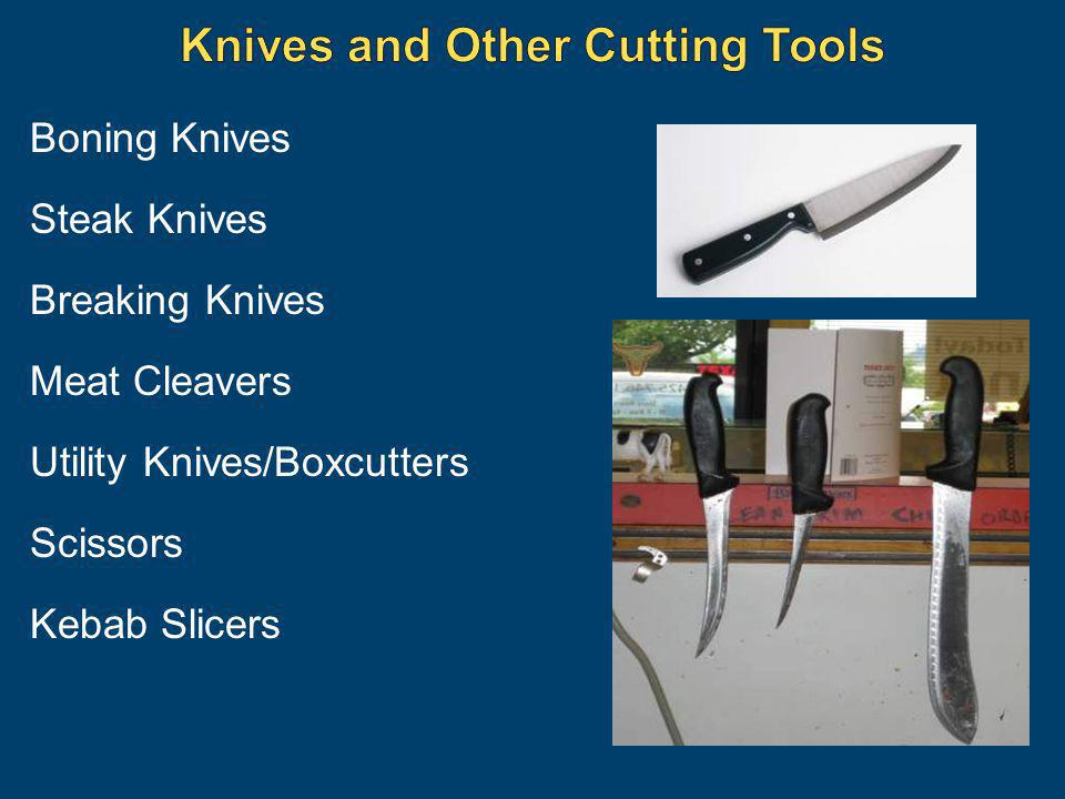 Knives and Other Cutting Tools