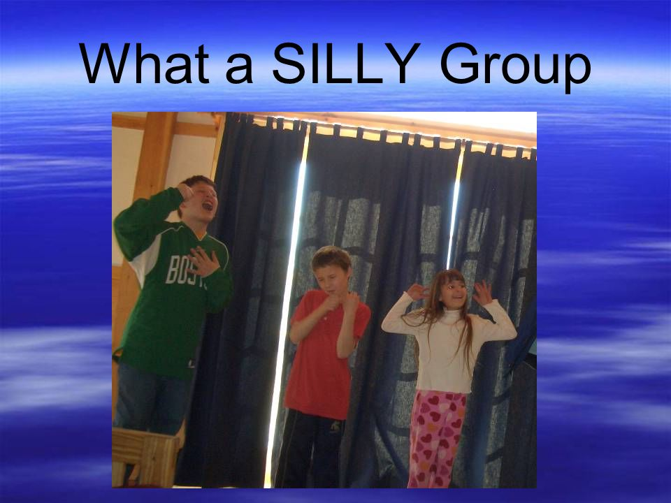 What a SILLY Group
