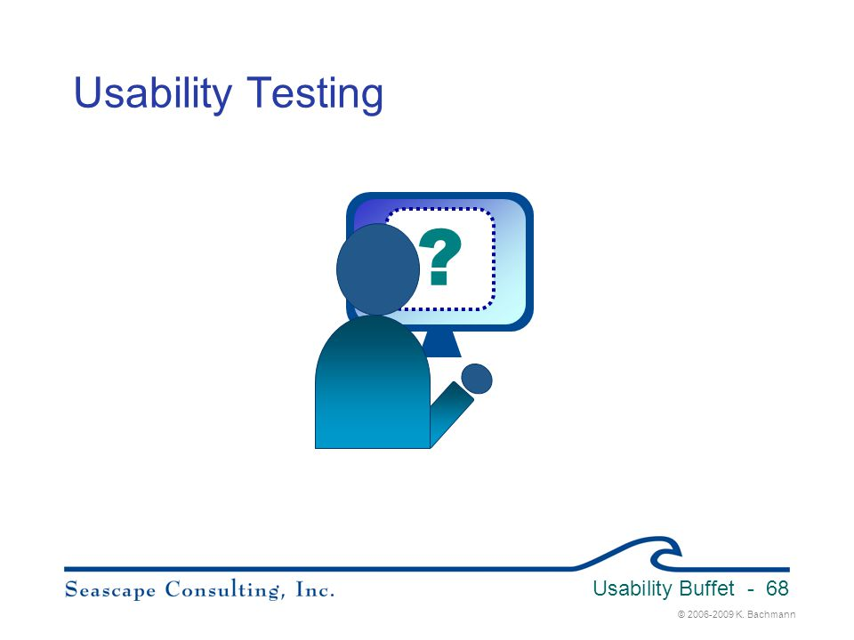 Usability Testing Usability Buffet 3/31/2017