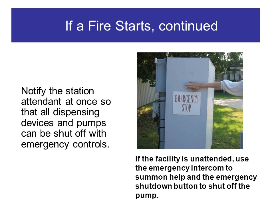 If a Fire Starts, continued