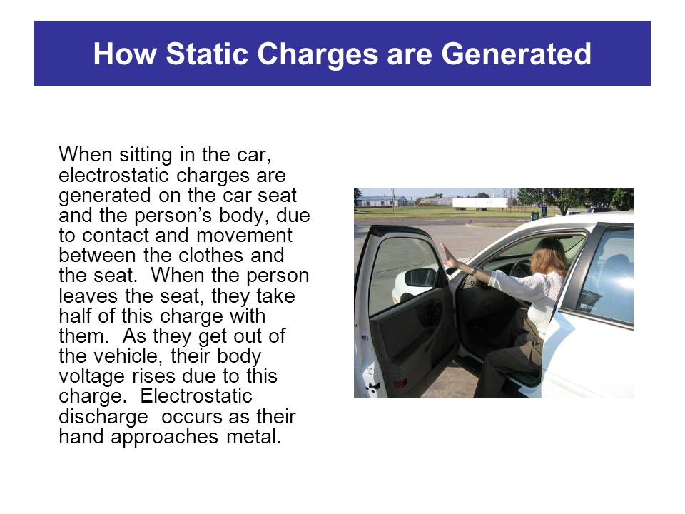 How Static Charges are Generated