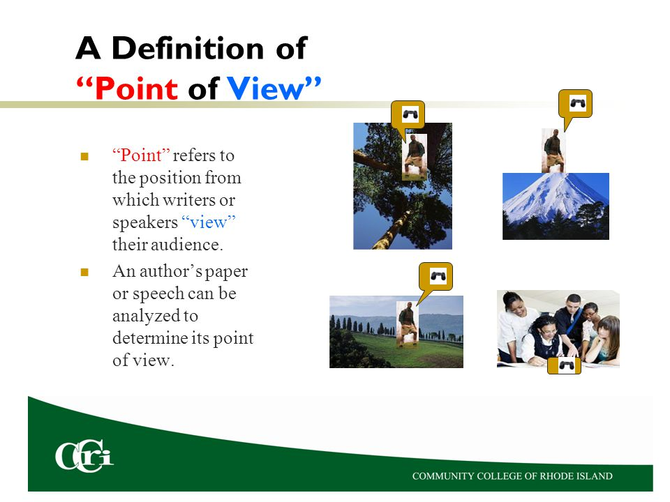A Definition of Point of View
