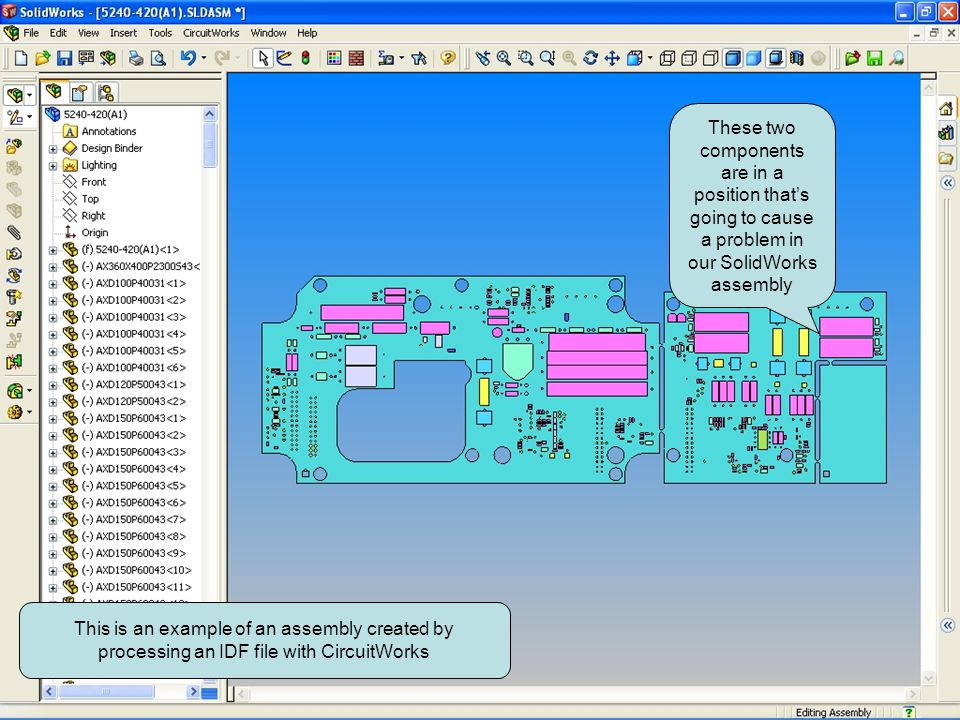This is an example of an assembly created by