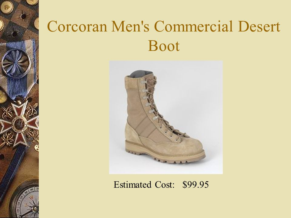Corcoran Men s Commercial Desert Boot