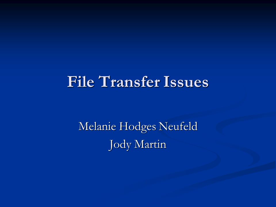 Melanie Hodges Neufeld Jody Martin