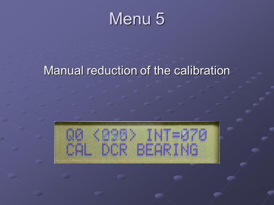 Soundcard Digital Communications Manual reduction of the calibration