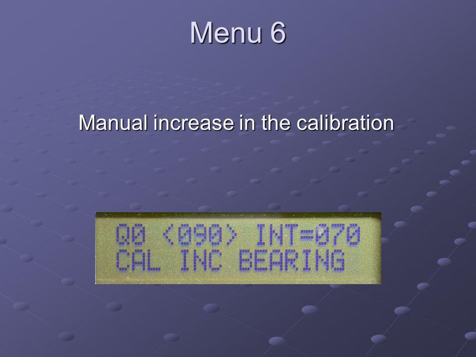 Soundcard Digital Communications Manual increase in the calibration