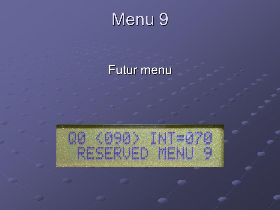 Soundcard Digital Communications Futur menu