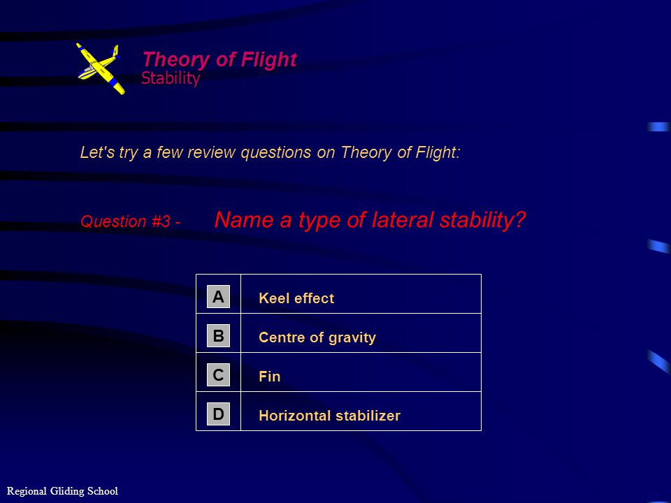 Theory of Flight Stability