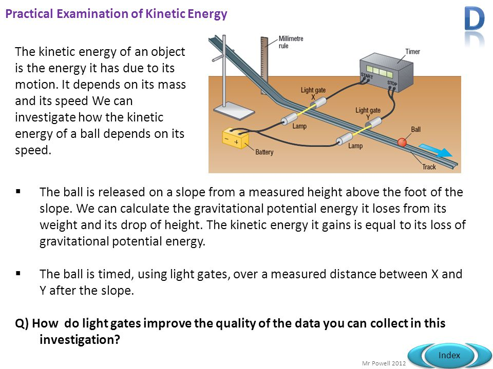 Practical Examination of Kinetic Energy