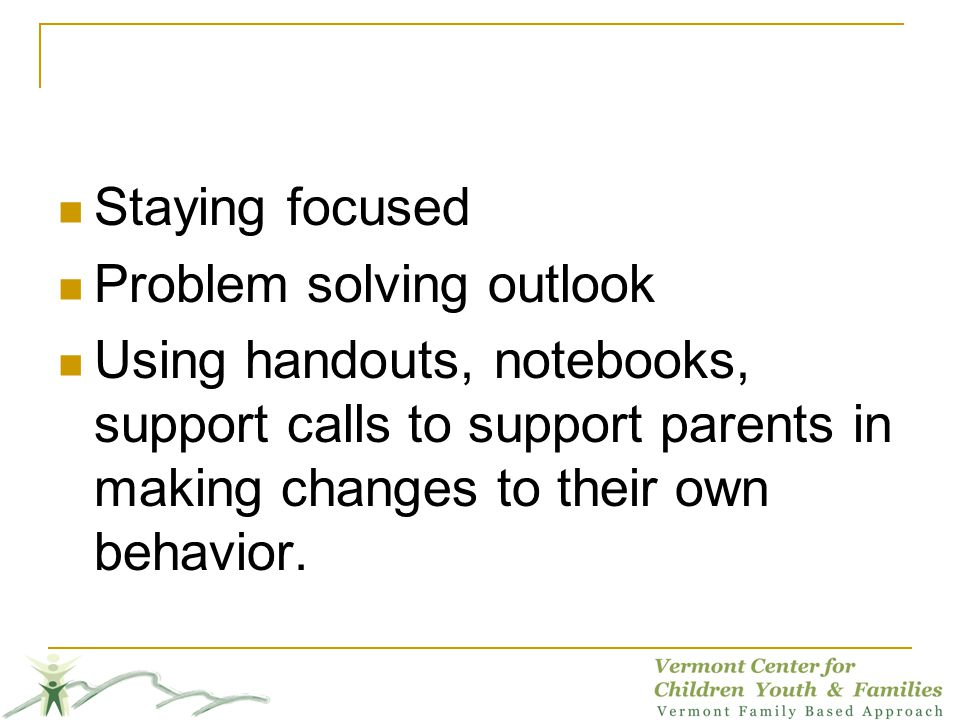 Staying focused Problem solving outlook.