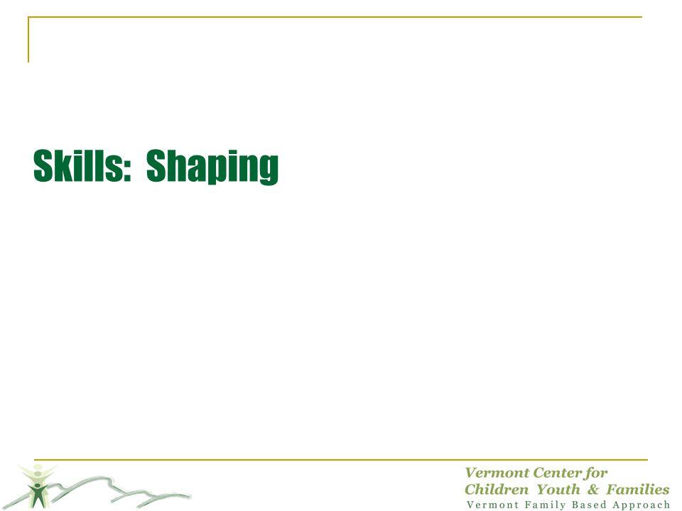 Skills: Shaping KAREN